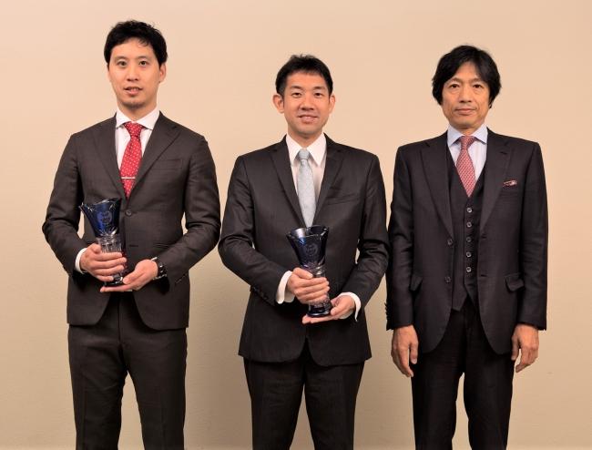 (左から)星先生、田川先生、大鹿教授