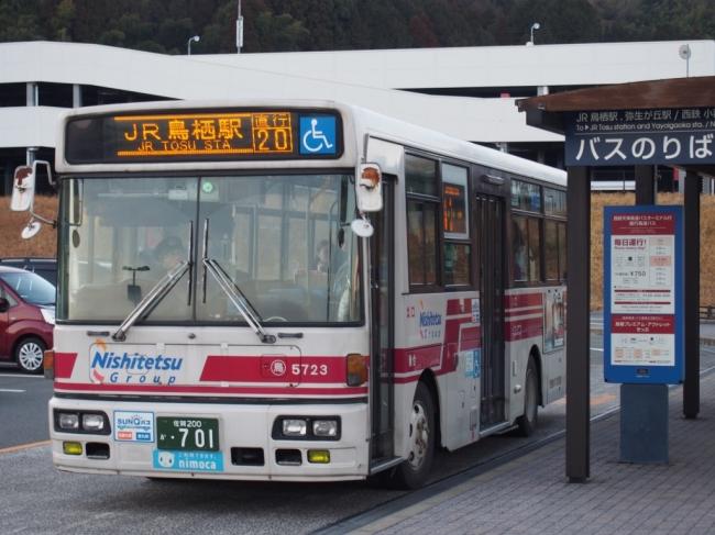 直行路線バス※イメージ