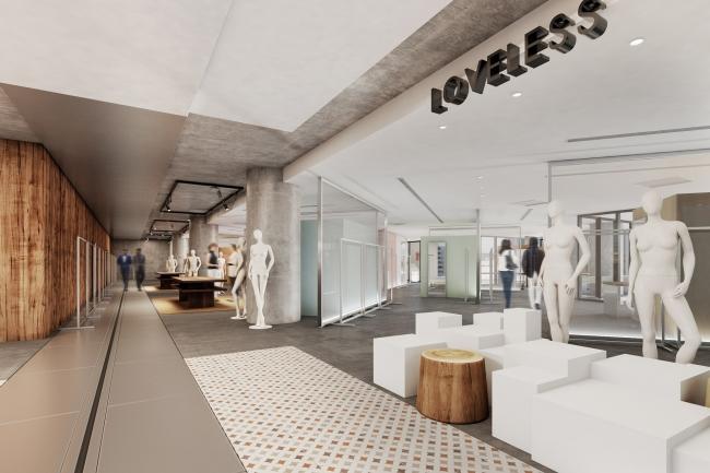 「LOVELESS NEWoMan横浜店」 店舗イメージ