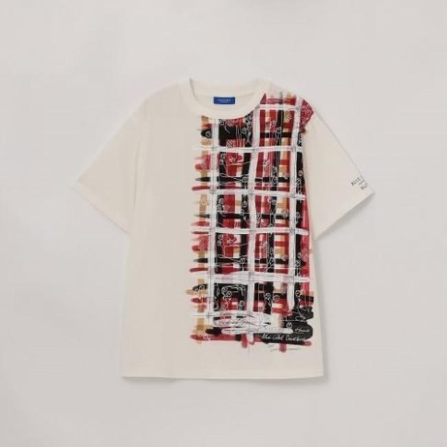 クレストブリッジチェックグラフィックTシャツ