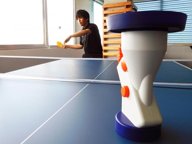 いつでもどこでも卓球を楽しむことができます。