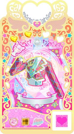 プリマジカード コーデが宿った魔法のカード。 ライブをするときは、このカードを使って着替える