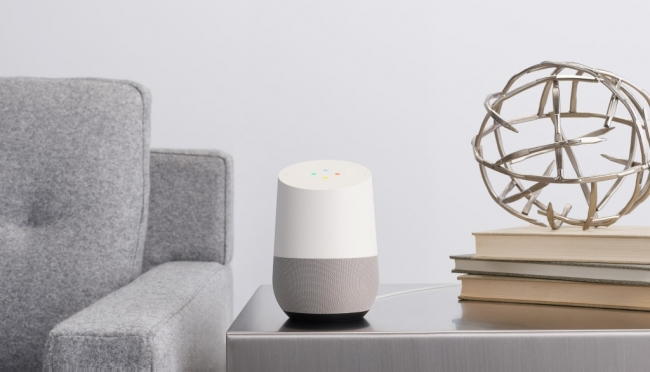 Google Home(提供:Google)