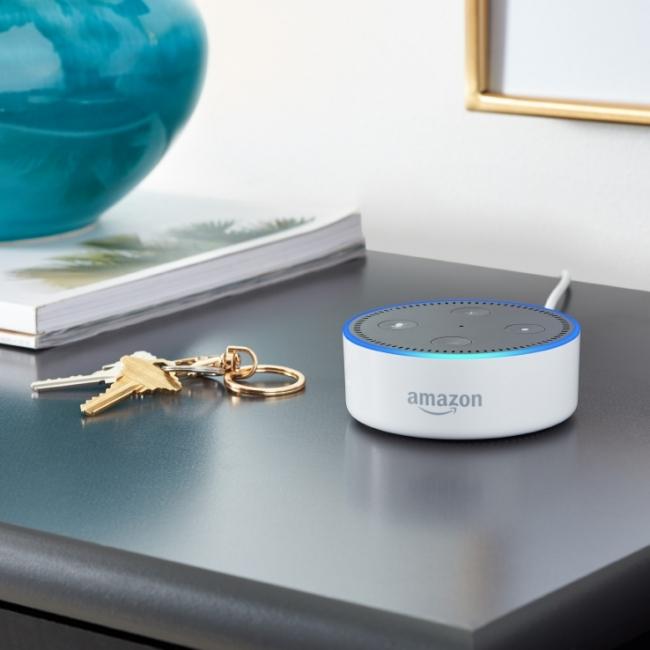 Amazon Echo Dot(提供:Amazon)