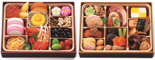 『二段重』価格:10,000円(税込)2人用/33品目/冷蔵