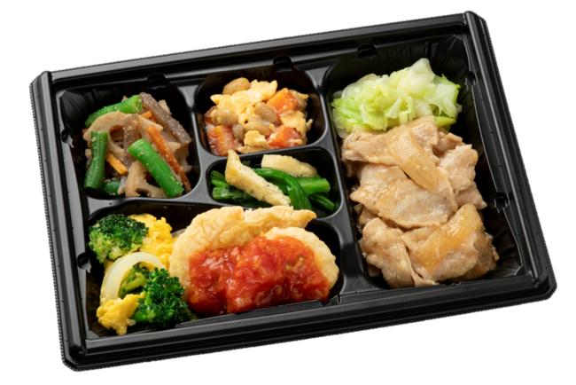 「まごころダブル」2つの主菜で大満足、500kcal基準のお惣菜(通常価格:5日間コース3,400円)