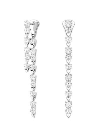 「ピアジェ サンライト」イヤリング 本体価格¥1,944,000(税抜) 素材:18Kホワイトゴールド、ダイヤモンド約2.78ct