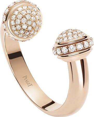「ポセション」リング 本体価格¥732,000(税抜) 素材:18Kピンクゴールド、ダイヤモンド約0.53ct