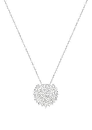 「ピアジェ サンライト」ペンダント 本体価格¥2,380,000(税抜) 素材:18Kホワイトゴールド、ダイヤモンド約2.73ct