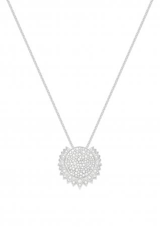 ペンダント (G33L8G00)¥2,440,000(税抜) 素材:18Kホワイトゴールド、ダイヤモンド