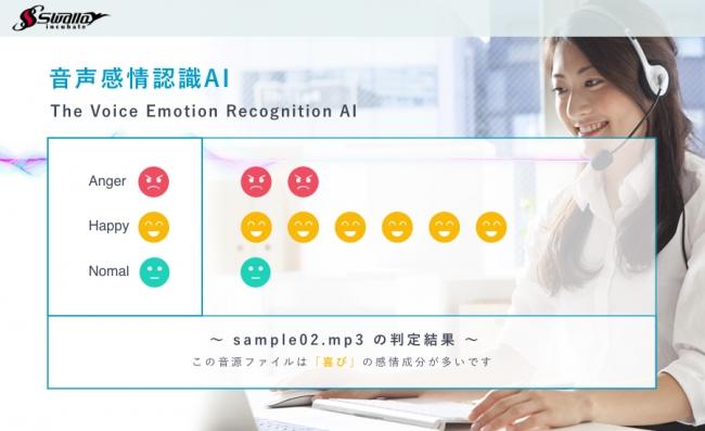 音声感情認識AI「WEBアプリ」