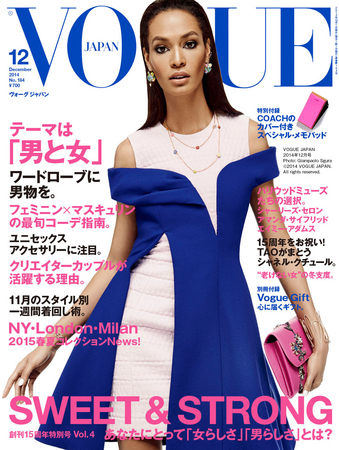 VOGUE JAPAN 2014年12月号 Photo: Giampaolo Sgura © 2014 Condé Nast Japan. All rights reserved.