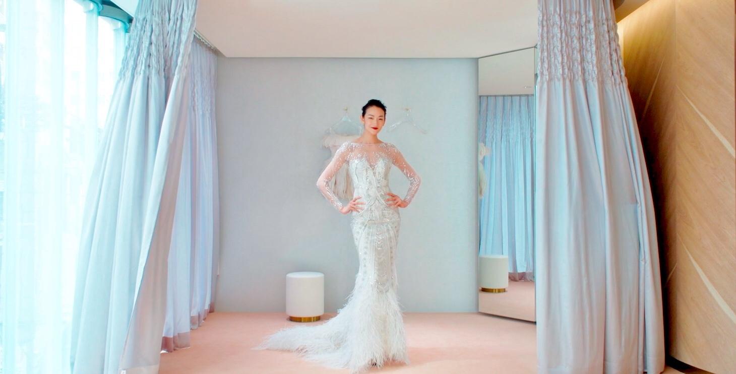 1408611c7254a 冨永愛が世界初の『VOGUE』のドレスショップ、「VOGUE Wedding Salon」をスペシャルビデオで紹介! 独占入荷ブランドの豪華 ウエディングドレス姿を披露。
