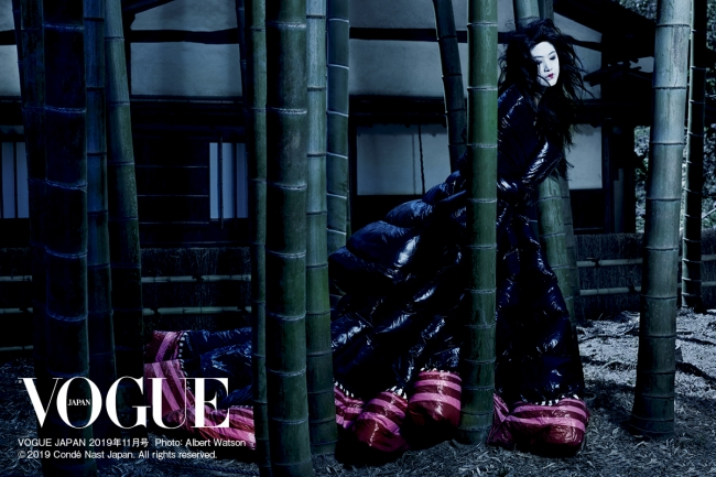VOGUE JAPAN 2019年11月号 Photo:Albert Watson © 2019 Condé Nast Japan. All rights reserved.