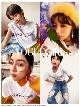 VOGUE GIRL PHOTO: WAKABA NODA (TRON) (C) 2020 Conde Nast Japan. All rights reserved.