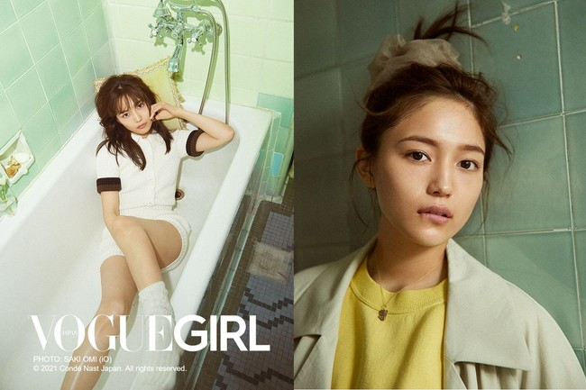 VOGUE GIRL PHOTO:SAKI OMI (iO) (C) 2021 Conde Nast Japan. All rights reserved.