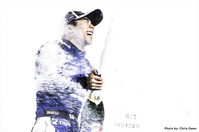 佐藤琢磨、怒涛の追い上げで今季2勝目!インディカー・シリーズ「ゲートウェイ500~イリノイ~」あすよる再放送!