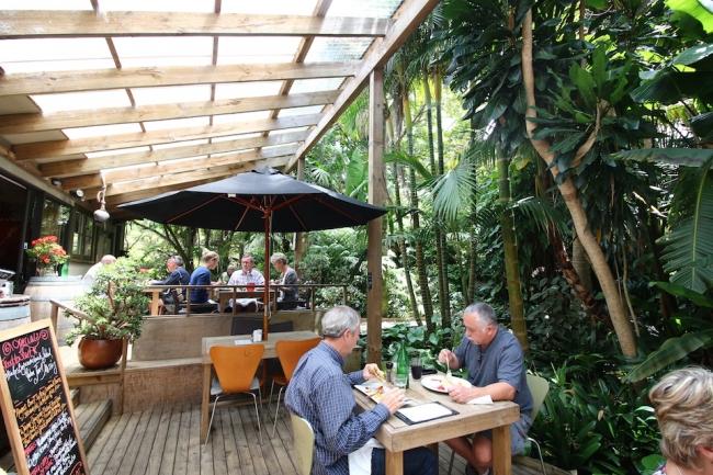 ニュージーランドのオーガニックカフェ