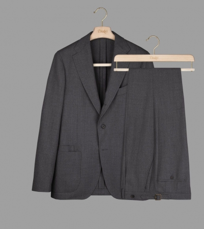 Drake's with VBC Mid-Grey Six-Ply Wool Suit ¥209,000+TAX