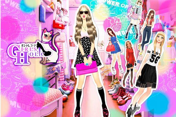 「夢展望」の人気ファッションアイテムが 着せ替えアプリ『オシャレコーデGIRLS HOLIC』に登場|夢展望株式会社のプレスリリース