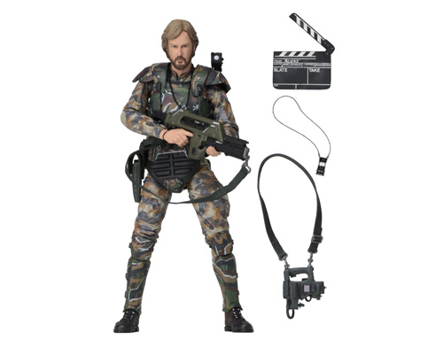 【ALIENS - 7 SCALE ACTION FIGURE - COL. JAMES CAMERON】