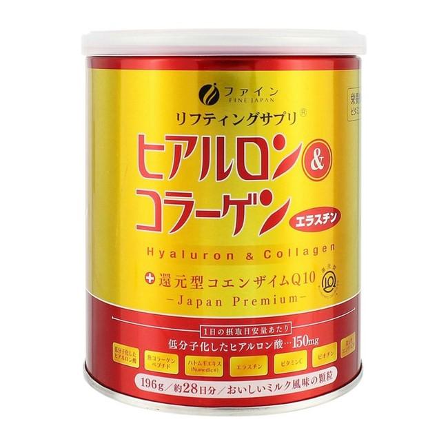ヒアルロン&コラーゲン +還元型コエンザイムQ10(缶)