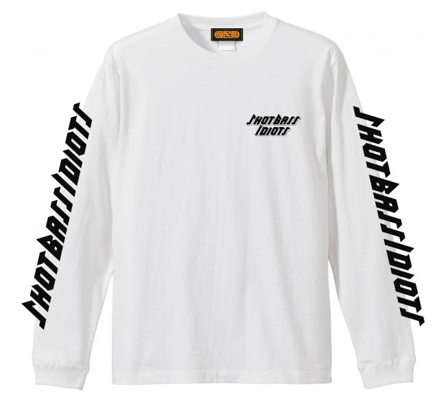 Shot Bass IdiotsロゴロングスリーブTシャツ:¥4,800+tax