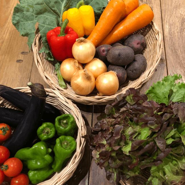 生産者と繋がった季節のお野菜