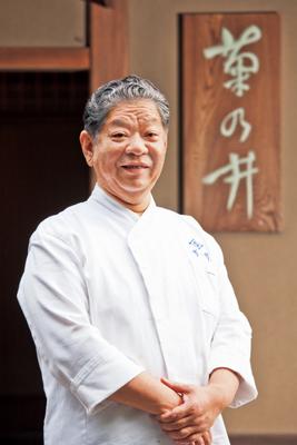 京都の名店「菊乃井」三代目ご主人・村田吉弘さん。