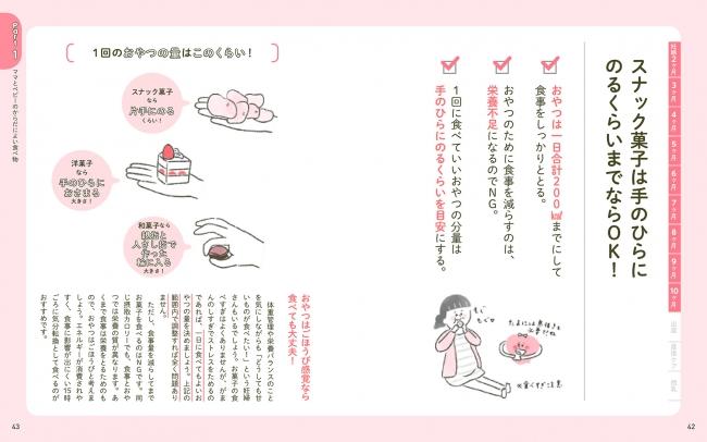 「こんなに食べて赤ちゃんは大丈夫?」お菓子が無性にほしくなる妊娠中。目安量がわかれば罪悪感もありません。