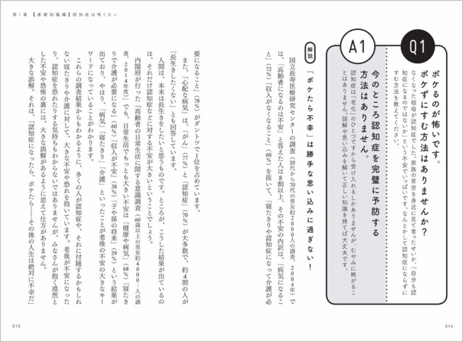 和田先生が認知症の疑問に相談形式で答えます
