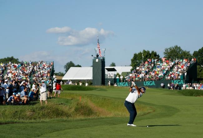 全米 オープン ゴルフ スコア