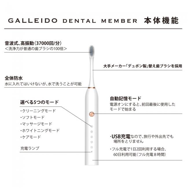 ガレイド 歯ブラシ