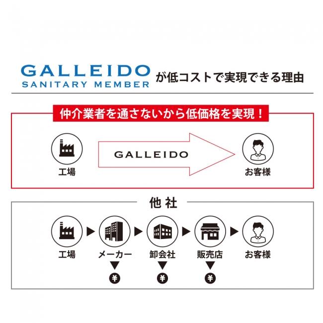 マスクのサブスク「GALLEIDO SANITARY MEMBER」(ガレイド サニタリー ...