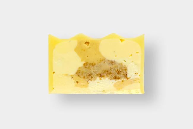 バターケーキの断面