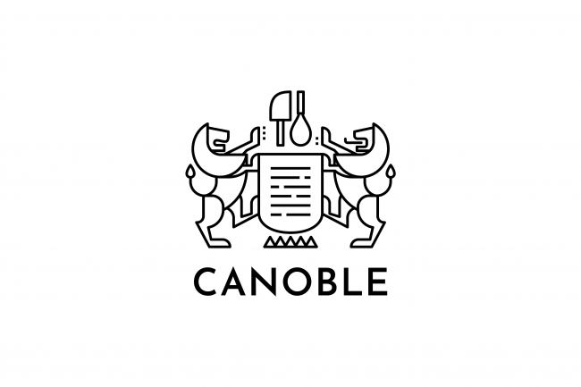 創業時のロゴマークを踏襲したカノーブルの新しいロゴマーク