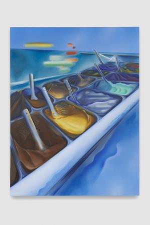 Nicholas Hatfull, Marina (Vacanze Romane), 2019, 170×130 cm, photo by Benjamin Westoby