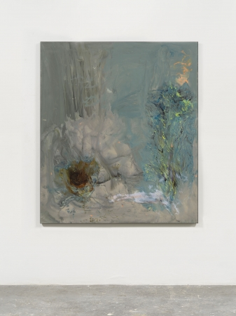 Ryan Sullivan, Blue Painting, 2019, Copyright the Artist, courtesy the Artist and Sadie Coles HQ, London.
