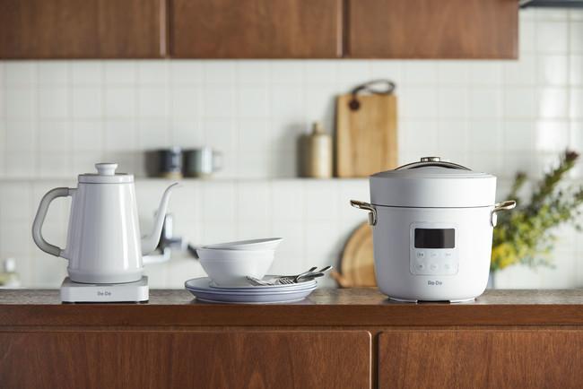 Re・De 新製品(左からKettle、Dish、Pot(新色))