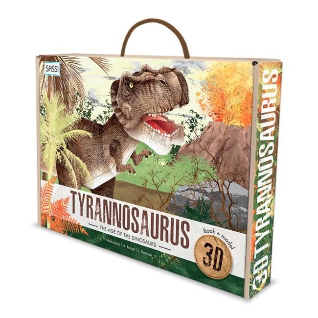 3Dパズル ティラノサウルス(税込¥2,574)