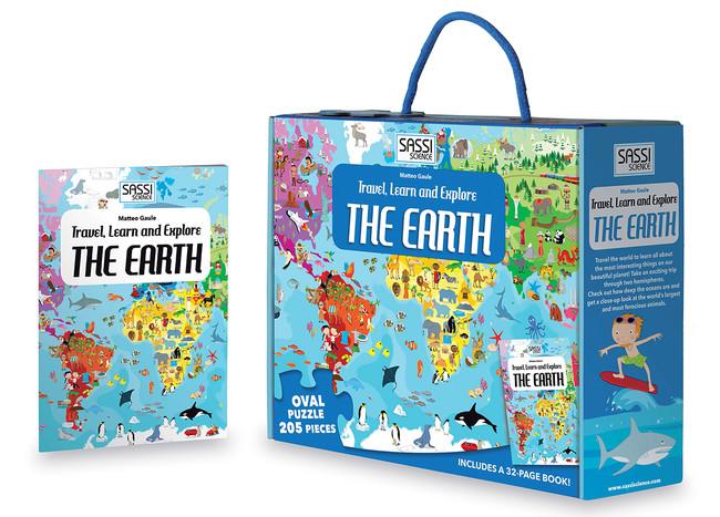 地球パズル&絵本BOX(税込¥2,574)