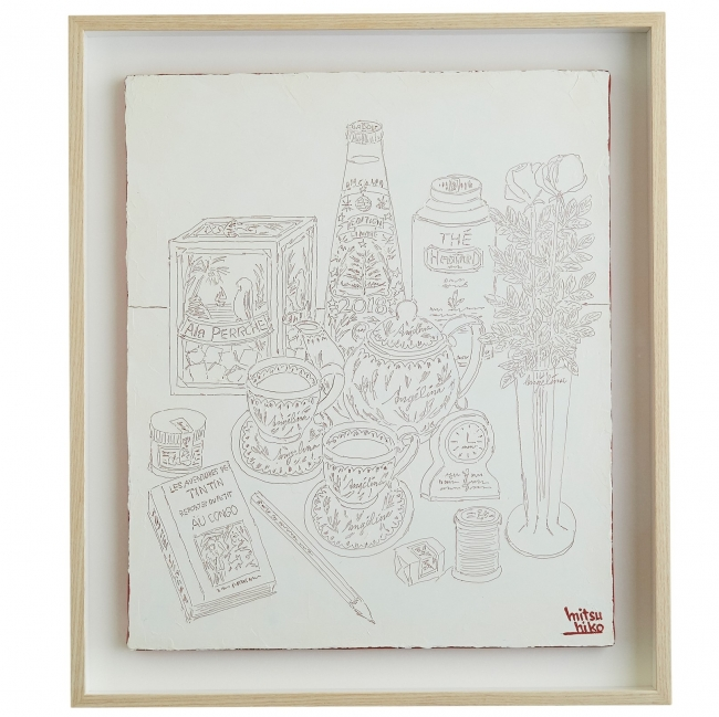 「Drawing」White 88,000円(税込)