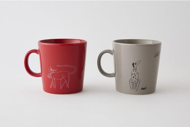 マグカップ 各1,320円(税込)