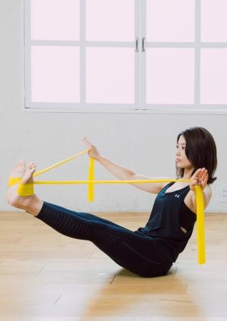 全身の運動:コアから全身へキレイなウエストラインへと導く