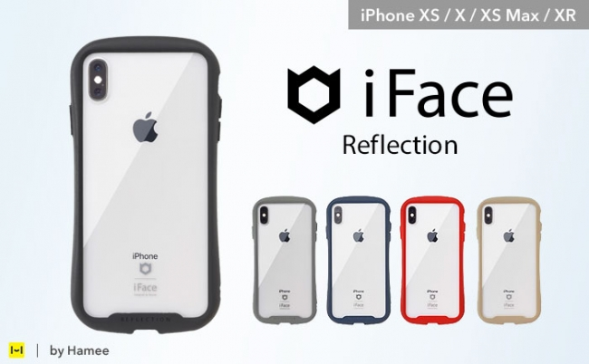 7dbc2ccda5 [iPhone XS/X/XS Max/XR専用]iFace Reflection 強化ガラス クリアケース価格 : 3,200円(税込3,456円)  URL : https://www.strapya.com/products/483992.html