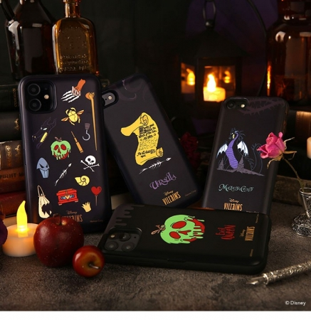 黒を基調としたダークな雰囲気漂うヴィランズデザイン4種