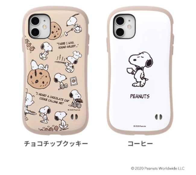 PEANUTS/ピーナッツ iFace First Class Cafeケース全2種