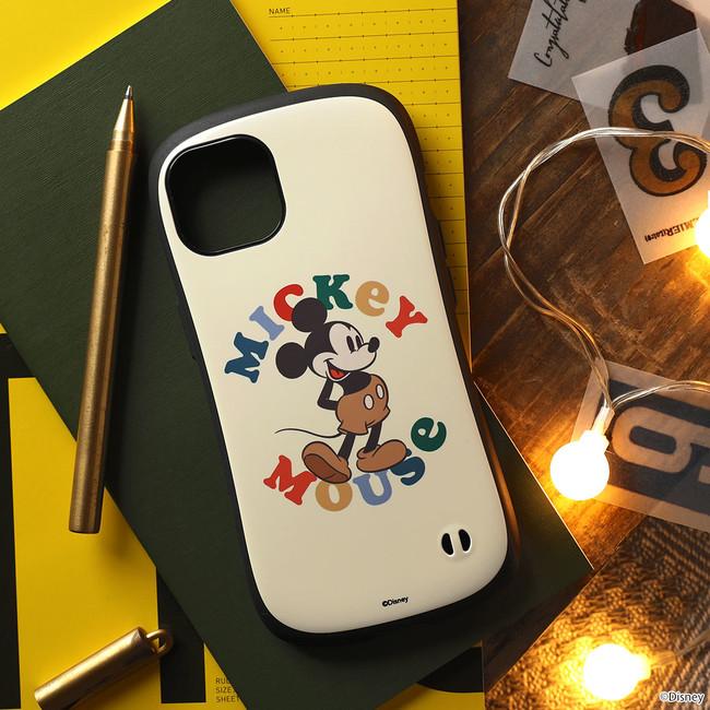 「ミッキーマウス/ポーズ」オーソドックスなスタンディングポーズのミッキーはネイチャーカラーでおしゃれさアップ!
