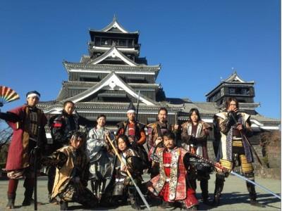 【JAF熊本】「熊本城おもてなし武将隊と巡る熊本城」を復興祈願として開催します