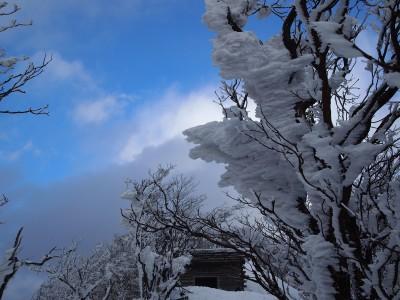 【JAF奈良】第2弾!岩本さんと歩く 霧氷の花咲く「高見山スノーハイキング」を開催!
